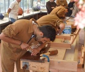 Estro legno ad Arenzano